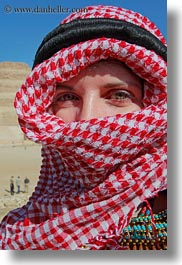 africa, clothes, egypt, keffiyeh, red, scarves, vertical, vicky, victoria gurthrie, wt people, photograph