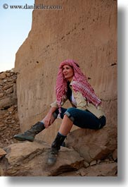 africa, clothes, egypt, keffiyeh, sandstone, scarves, vertical, vicky, victoria gurthrie, wt people, photograph