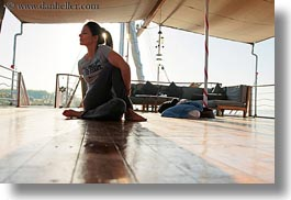 africa, egypt, horizontal, poses, vicky, victoria gurthrie, wt people, yoga, photograph