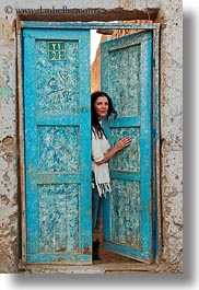 africa, blues, doors, egypt, vertical, victoria, victoria gurthrie, wt people, photograph