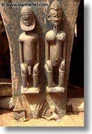 africa, carvings, dogon, mali, subsahara, vertical, photograph