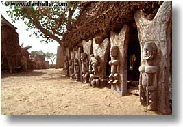 africa, carvings, dogon, horizontal, mali, subsahara, photograph