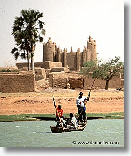 africa, mali, mopti, mosques, rivers, subsahara, vertical, photograph