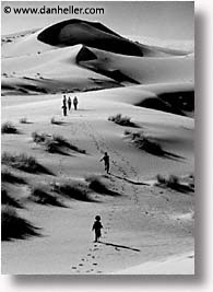 africa, black and white, desert, dunes, morocco, sahara, sand, vertical, photograph
