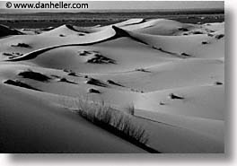 africa, black and white, desert, dunes, horizontal, morocco, sahara, sand, photograph