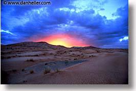 africa, desert, dunes, horizontal, morocco, sahara, sand, sunburst, photograph