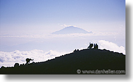 africa, hikers, horizontal, kilimanjaro, meru, mountains, tanzania, photograph