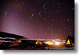 africa, horizontal, kilimanjaro, mountains, nite, star trails, stars, tanzania, photograph