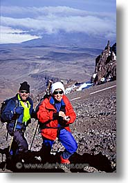 africa, kilimanjaro, lauren, mike, people, tanzania, vertical, photograph