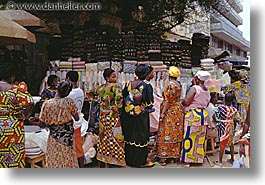 africa, colorful, crowds, horizontal, togo, tribes, west africa, photograph