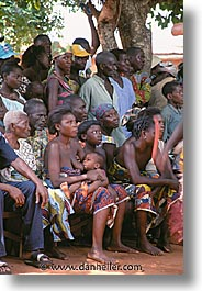 africa, crowds, togo, tribes, vertical, watching, west africa, photograph