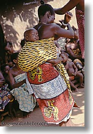 africa, babies, dance, togo, tribes, vertical, west africa, photograph