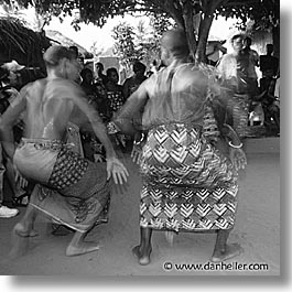 africa, black and white, dance, square format, togo, tribes, west africa, photograph