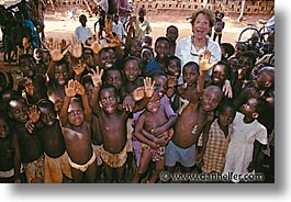 africa, childrens, horizontal, mothers, togo, tribes, west africa, photograph