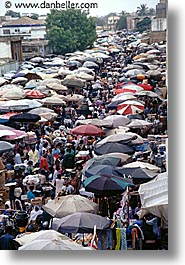 africa, market, togo, tribes, umbrellas, vertical, west africa, photograph