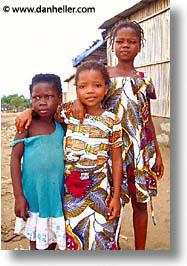 africa, girls, togo, tribes, vertical, west africa, photograph