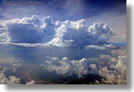 aerial clouds, asia, bhutan, clouds, horizontal, photograph