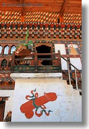 arts, asia, bhutan, frescoes, paintings, penis, vertical, photograph