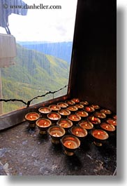 asia, bhutan, candles, vertical, windows, photograph