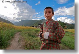 asia, asian, bhutan, boys, childrens, clothes, costumes, horizontal, lobeysa, people, style, photograph