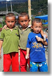 asia, asian, bhutan, boys, childrens, people, twins, vertical, photograph
