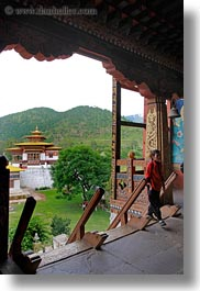 asia, asian, bhutan, buddhist, dzong, entry, people, punakha dzong, religious, temples, vertical, photograph
