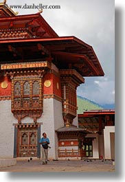 asia, asian, bhutan, buddhist, hashmat, people, punakha dzong, religious, temples, vertical, photograph