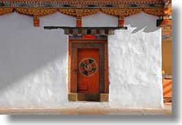 asia asian bhutan buddhist doors dzong horizontal religious & Photos/Pictures of Rinpung Dzong pezcame.com