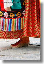 asia, asian, bhutan, buddhist, clothes, costumes, dancers, events, festival, religious, stills, style, vertical, wangduephodrang dzong, photograph