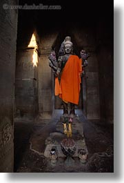 angkor wat, arms, asia, buddhas, cambodia, multi, vertical, photograph
