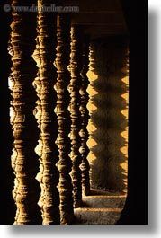 angkor wat, asia, balusters, cambodia, vertical, windows, photograph