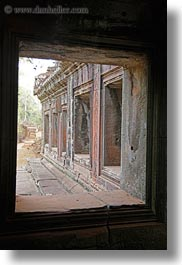 angkor wat, asia, cambodia, vertical, windows, photograph
