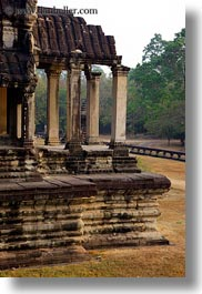angkor wat, asia, cambodia, east, east entrance, entrance, foyer, vertical, photograph