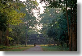 angkor wat, asia, cambodia, east, east entrance, gates, horizontal, structures, photograph