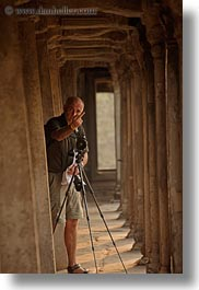 angkor wat, asia, cambodia, fingers, ken, men, people, vertical, photograph