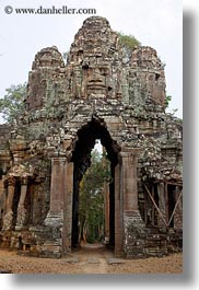 asia, cambodia, death, death gate, gates, vertical, photograph
