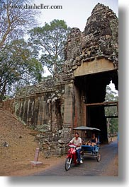 asia, cambodia, gates, vertical, victory, victory gate, photograph
