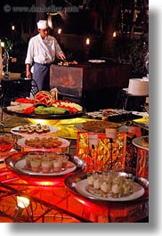 asia, cambodia, cooks, desserts, foods, hotels, vertical, photograph
