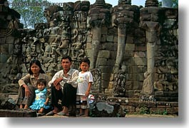 asia, cambodia, families, horizontal, people, photograph