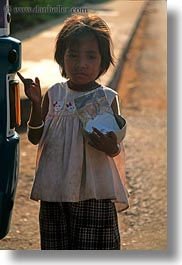 asia, cambodia, cambodian, girls, holding, men, people, vertical, photograph