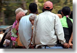 asia, backs, cambodia, childrens, girls, horizontal, looking, people, photograph
