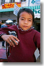 asia, cambodia, girls, motorcycles, people, vertical, photograph