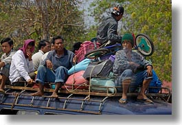 asia, cambodia, horizontal, men, people, vans, photograph