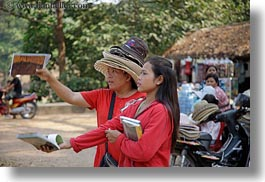 asia, books, cambodia, girls, horizontal, people, selling, womens, photograph