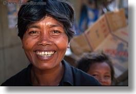 asia, cambodia, horizontal, people, smiling, womens, photograph