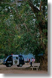 asia, cambodia, police, transportation, vans, vertical, photograph