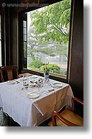 asia, dining, dining room, fujiya hotel, hakone, japan, tables, vertical, photograph