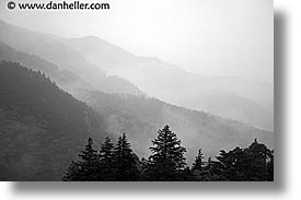 asia, black and white, cloudy, hakone, horizontal, japan, landscapes, photograph