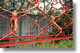 acrobatic, asia, hakone, horizontal, japan, open air museum, statues, photograph