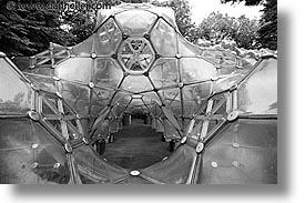 asia, black and white, bubbles, gym, hakone, horizontal, japan, open air museum, photograph